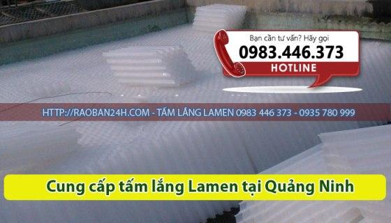 Cung cấp tấm lắng lamen tại Quảng Ninh